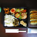 129481352 - 【2020年4月22日】『お弁当』に『餃子』。