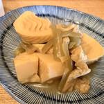 つちいし - 【テイクアウト】フキと筍の田舎煮 ¥480