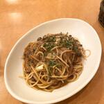 西洋家庭料理 レストラン オペラ - 挽肉とトマトのラグースパゲティ