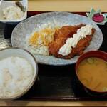 旬菜こまち - チキン南蛮定食(800円)