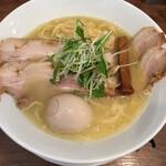ラーメン ロケットキッチン - 特別ラーメン ( ´θ`) 鶏白湯塩