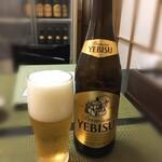 蔦や - エビスビール