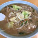 みたか食堂 - 料理写真:味噌タンメン