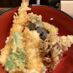 129490579 - 天丼セット(ご飯多め)