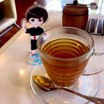クロシェットカフェ - ペパーミントティーとナカノさん