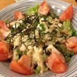 まやかしや - 「まやかしや」 夜 山芋のサラダ