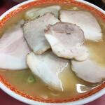 天天,有 - チャーシュー麺 大 (*´-`)