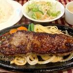 洋食屋ゆうき - 料理写真:サーロインステーキランチ(160g)