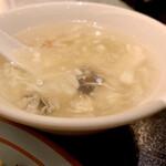 上海庭 - 玉子スープ