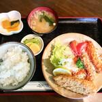 いじわるばあさん - 海老と白身魚のフライ定食