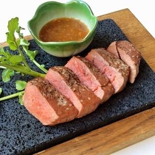 会食におすすめ『黒毛和牛ステーキ会食』5000円→4000円