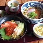 すしダイニング - 【ランチ】麺御膳