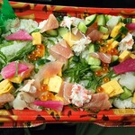 越中舞華 - 海鮮ちらし寿司
