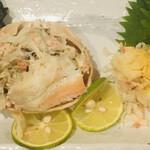 魚男 - 香箱蟹