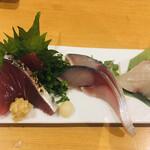 魚男 - 刺身盛り合わせ