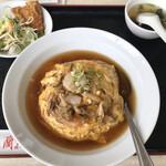 Rankouen - サービスランチ 天津丼(¥780)