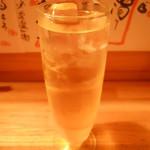地酒ビストロ おいち。 - りんご酒ソーダ割