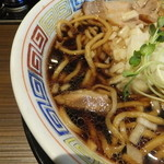 麺屋ZERO1 - スープの色濃いですけど、味は濃くない!