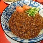 剛龍飯店 - 炸醤麺(大盛)