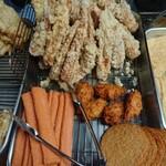宮川製麺所 - 天ぷらコーナー1