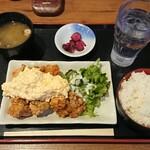 水炊き・焼き鳥 とりいちず - チキン南蛮定食¥500-