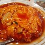 中華料理 松楽 - 天津飯。