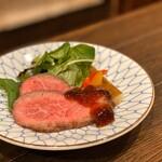 夢酒知花 - 仙台牛のローストビーフ