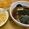 天下一 - 料理写真:醤油ラーメンとチャーハンセット