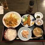呑処ひろし - ひろし定食(税込み920円)