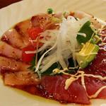 鉄板ダイニング 綺羅里 - 鮮魚のカルパッチョ。<2012_05>