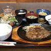 やきにく なか園 - 料理写真:黒毛和牛ハンバーグ定食¥1,100