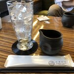 一凛珈琲 - ・一凛名物 淹れたてアイスコーヒー 500円/税込