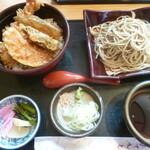 蕎麦の庄 長命庵 - '20/04/24 天丼セット~もりそば(1,030円+税)