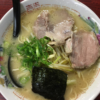 中華そば 乙丸 - 料理写真:『白ネギ中華   700円なり』