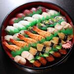 寿司 和食 まえ田 - 上寿司盛り合わせ(5人前)