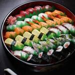 寿司 和食 まえ田 - 並寿司盛り合わせ(5人前)