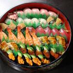 寿司 和食 まえ田 - 特上寿司盛り合わせ(5人前)