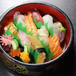 寿司 和食 まえ田 - 上寿司盛り合わせ(1人前半)