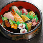 寿司 和食 まえ田 - 特上寿司盛り合わせ