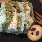 Sumi Cafe - 抹茶あずきのティラミス