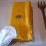 Sumi Cafe - かぼちゃのチーズケーキ