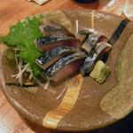 マゴコロ - しめ鯖はアッサリした味付けで私好みです。