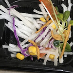 中国厨房 YUAN - 大根とトウモロコシサラダ