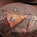 """129556505 - ドリップコーヒー チーズケーキとの""""マリアージュ"""""""