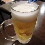 昭和居酒屋 ほっこり亭 - ジョッキー 凍らせてあります