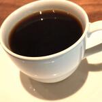 レーベルカフェ トーキョー - コーヒー(バードフレンドリー)。