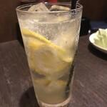 129564368 - 本気レモンサワー550円
