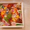 三彩 - 料理写真:三彩バラちらし寿司