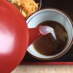 千本桜 - 蕎麦湯、注入