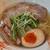 麺ビストロ Nakano - 料理写真:白しょうゆ麺